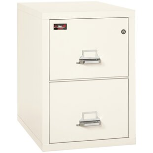 Read Reviews Fireproof 2-Drawer 2-Hour Rated Vertical File Cabinet by FireKing