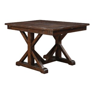 Tesch Extendable Dining Table Loon Peak