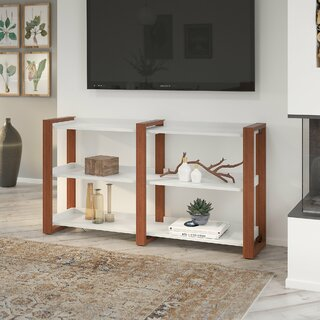 "Voss 60"" Console Table by Kathy Ireland Home by Bush Furniture SKU:EC635111 Details"