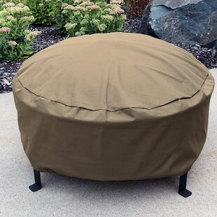 Durable Weather Resistant Round Fire Pit Cover
