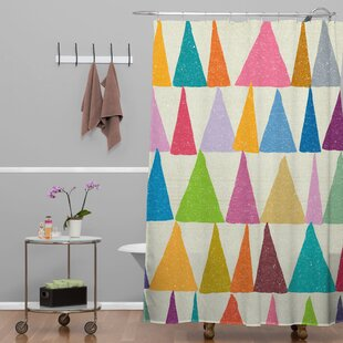 Nick Nelson Analogous in Bloom Single Shower Curtain