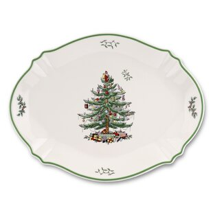 Christmas Tree Serve Platter