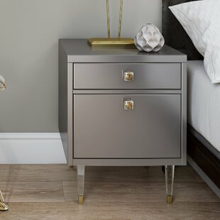 Read Reviews Femke End Table by Willa Arlo Interiors