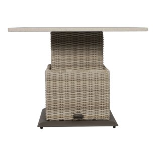 Soho Rattan Dining Table By Lesli Living