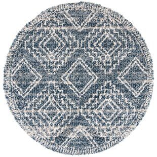 Beom Navy/Ivory Area Rug by Union Rustic