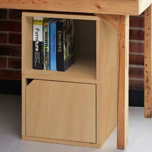 Tanguay Eco ZBoard Under Desk Cube Bookcase by Ebern Designs Comparison