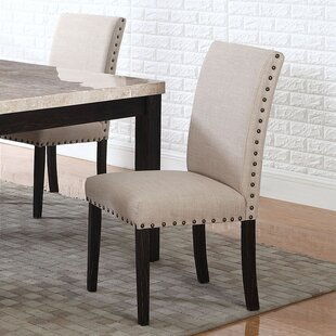 Dining Side Upholstered Dining Chair (Set of 2) BestMasterFurniture