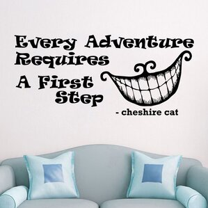 Alice In Wonderland Every Adventure Wall Decal