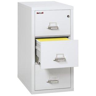 FireKing Fireproof 3 Drawer Vertical Filing Cabinet