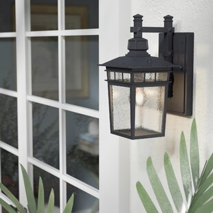 Valeri 1-Light Outdoor Wall Lantern By Beachcrest Home Outdoor Lighting