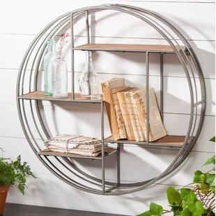 Noam Round Wall Shelf Wayfair