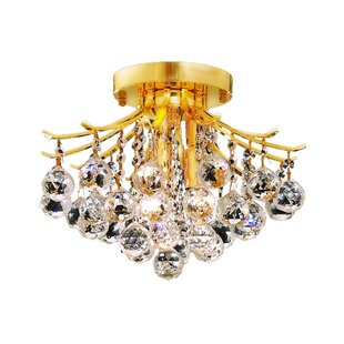 McAllen 3-Light Semi Flush Mount by Mercer41