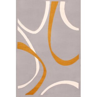 Grey/Yellow Rug by Longweave