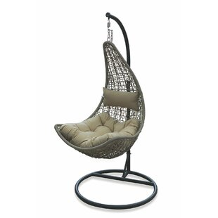 Polyrattan Swing Chair With Stand By Galileo
