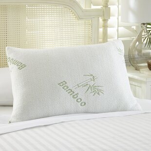Rayon From Bamboo Memory Foam Pillow by Alwyn Home Sale