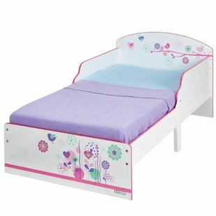 Colbie Wooden Children's Bed Girl 70 * 140 Cm Hello Home - Worlds Apart By Zoomie Kids