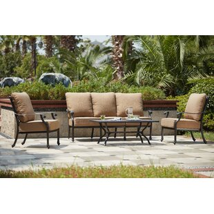 Waconia 4 Piece Sofa Set with Cushions