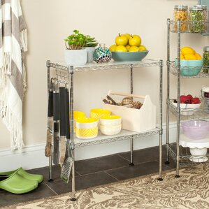 Chrome Microwave Cart by Symple Stuff