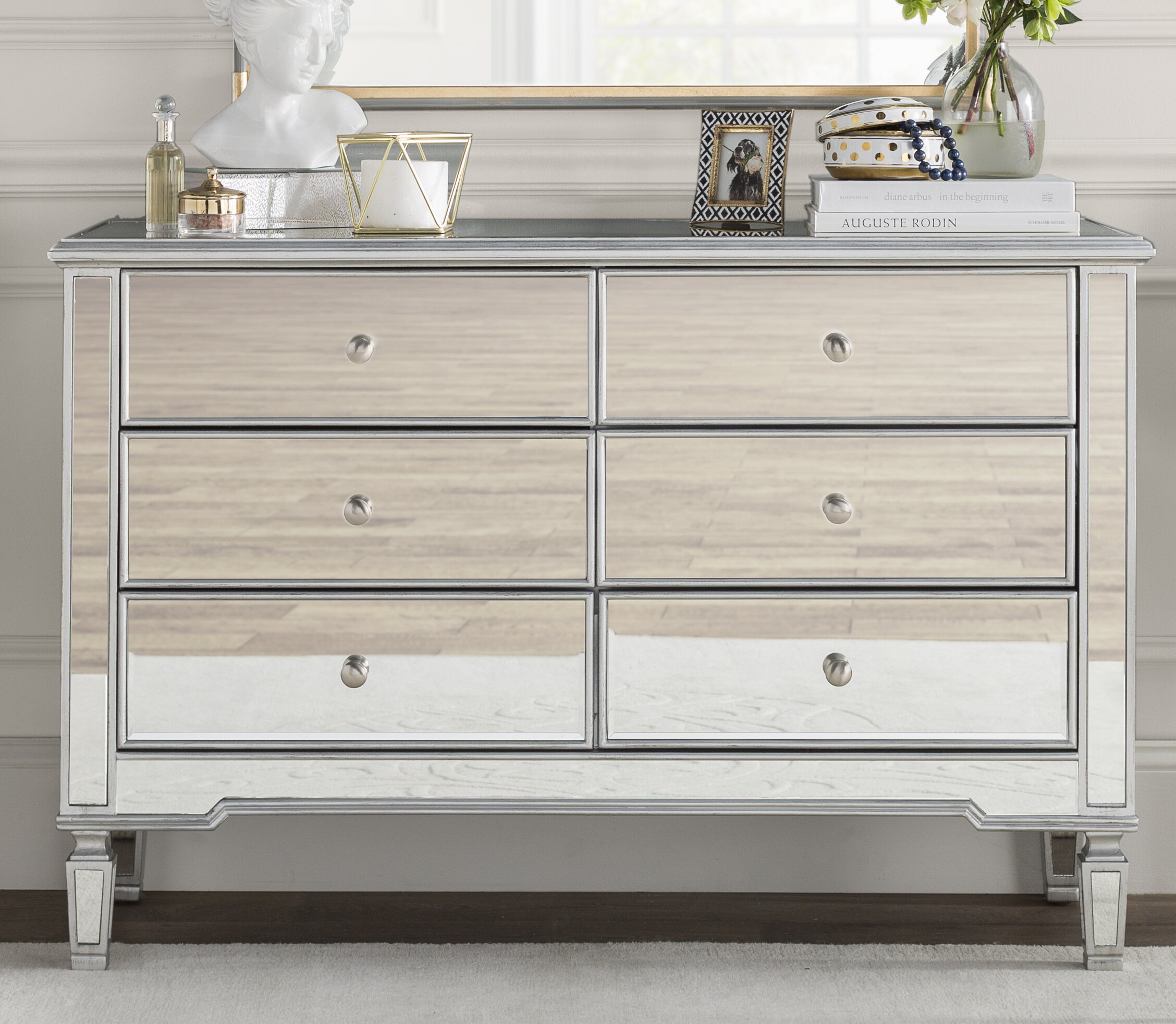 Brookdene 6 Drawer Double Dresser