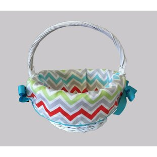 Great choice Chevron Easter Cotton Basket Liner By CaughtYaLookin