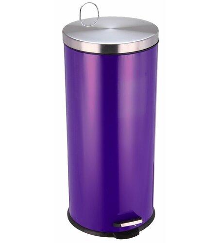 30 L Mülleimer aus Edelstahl | Küche und Esszimmer > Küchen-Zubehör | Pink/schwarz/beige | Wildon Home