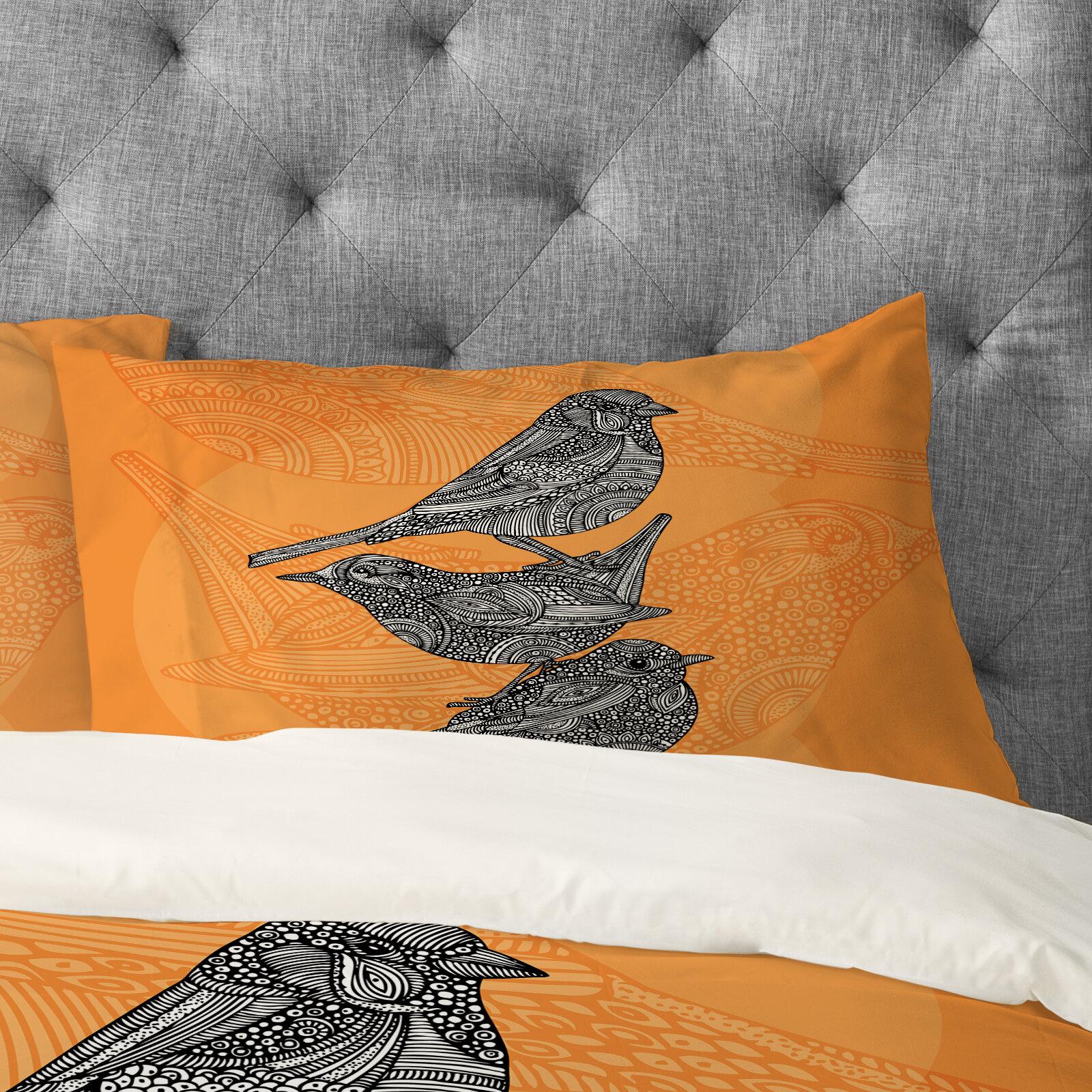East Urban Home 3 Little Birds Pillowcase Wayfair