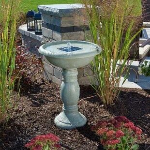Smart Solar Solar Country Gardens Solar Birdbath