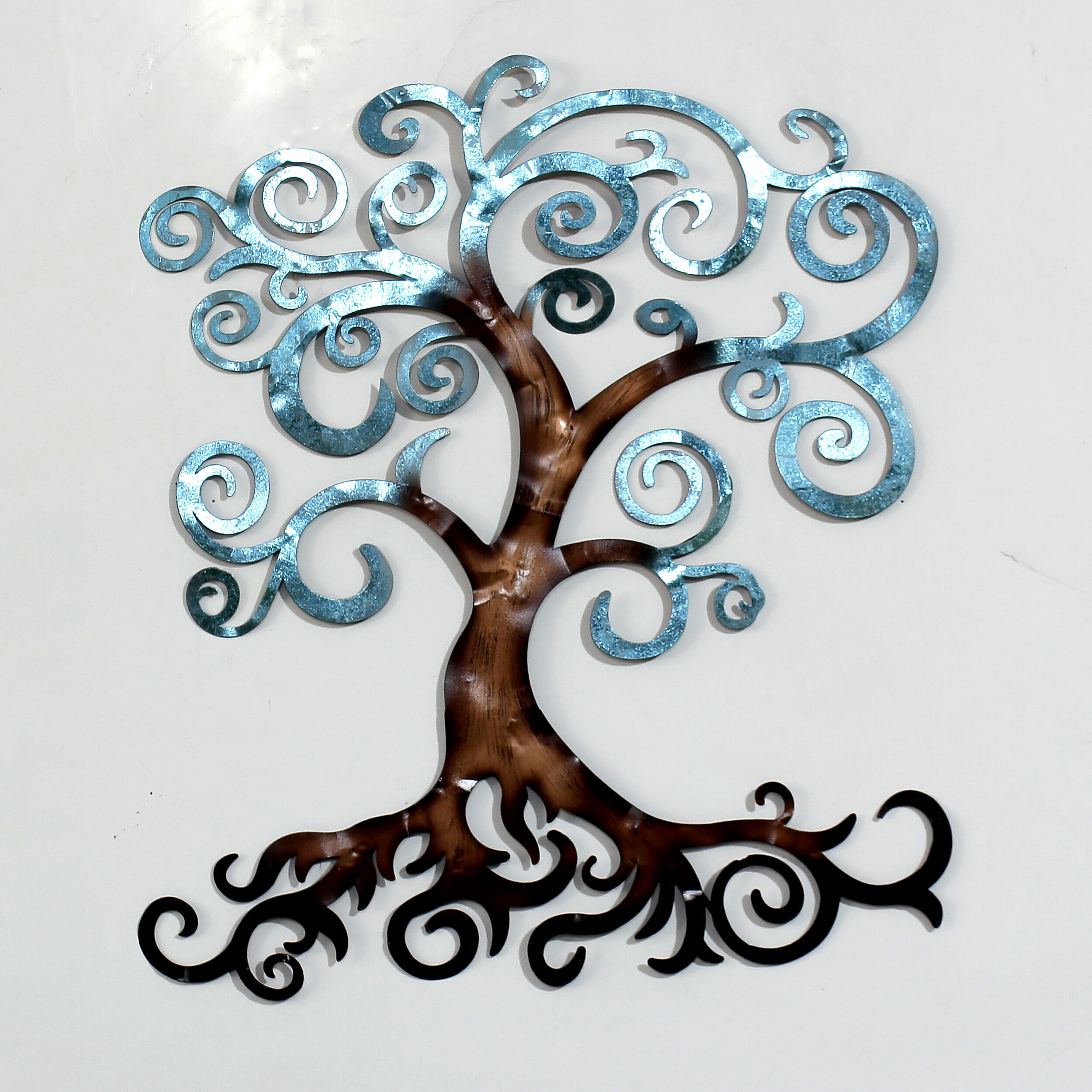 Red Barrel Studio Tree Of Life Medium Metal Wall Decor Wayfair