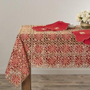 Broderieu00a0Embroidery Cutwork Tablecloth