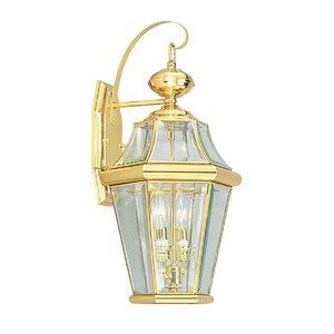 Violetta 2-Light Outdoor Wall Lantern
