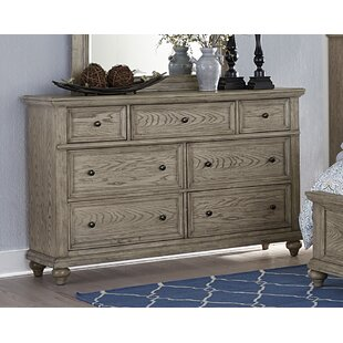 Lorsworth 7 Drawers Double Dresser
