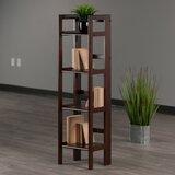 Calfee Folding Etagere Standard Bookcase by Red Barrel Studio®