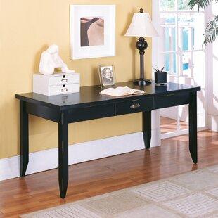 Martin Home Furnishings Tribeca Loft Black Writing Desk