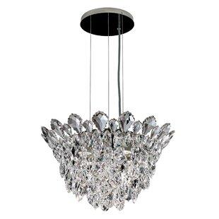 Schonbek Trilliane 4-Light Crystal Chandelier