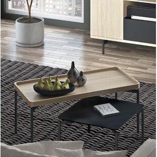 Radius Rectangular Coffee Table by BDI