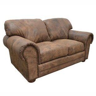 Cheyenne Leather Loveseat