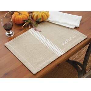 Placemats - Clear placemats for table