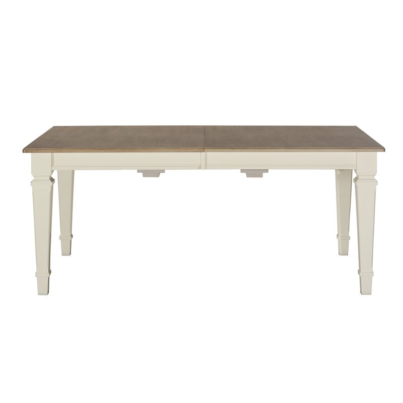 August Grove Ashe Extendable Solid Wood Dining Table Wayfair