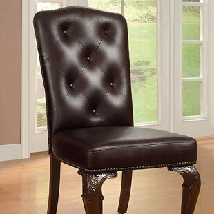 Astoria Grand Silver Upholstered Dining C..