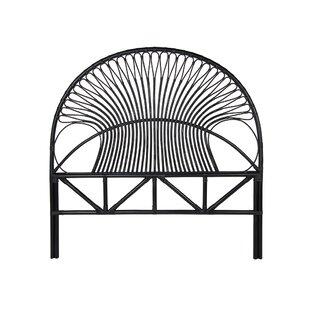 Price comparison Hirschman Rattan Loop Open Frame Headboard by Bungalow Rose