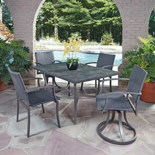 Stone Veneer 5 Piece Dining Set by Home Styles 2019 Sale
