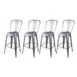 Eddie 30 Bar Stool (Set of 4) by 17 Stories