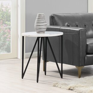 Alamo End Table by Ivy Bronx