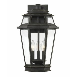 Charlton Home Ginyard EPMM 3-Light Outdoor Wall Lantern