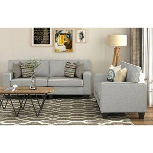 Warrenup 2 Piece Living Room Set by Latitude Run