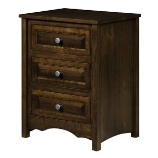 Restormel 3 Drawer Nightstand