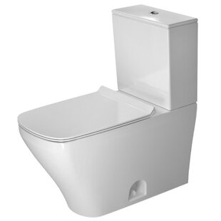 Duravit DuraStyle 1.28 GPF (Water Efficient) Elongated Two-Piece Toilet (Seat Not Included)