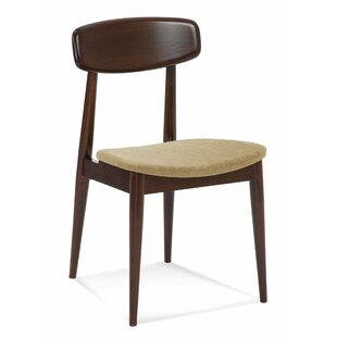 Tylor Wood Upholstered Dining Chair by Corrigan Studio