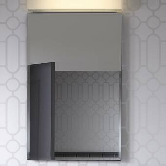 Ronbow Wyatt Surface Mount Framed 1 Door Medicine Cabinet With 2 Adjustable Shelves Reviews Perigold