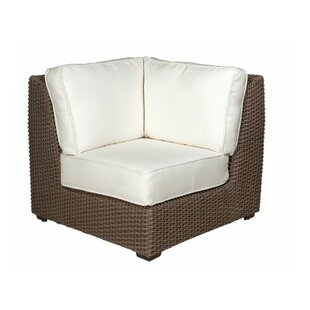 Augusta Corner Sectional Unit Patio Chair with Cushions